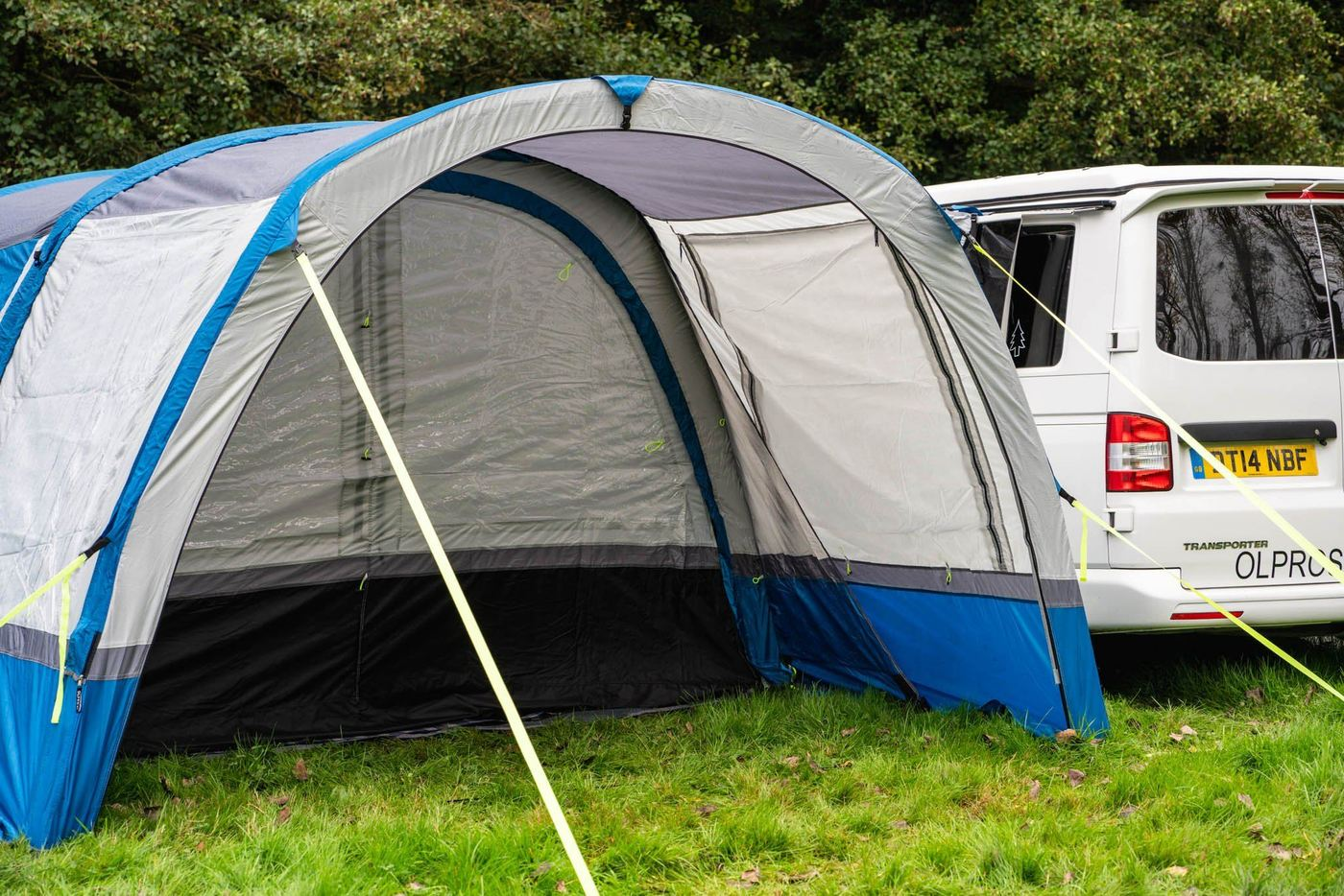 OLPRO Cocoon Breeze Awning Extension  bluee Waterproof 3 Doors with Pegs Camping  online-shop