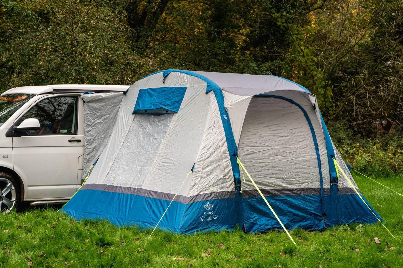 OLPRO Cubo Breeze Toldo para Camper van Azul gris  Al aire libre Cámping  hasta un 70% de descuento