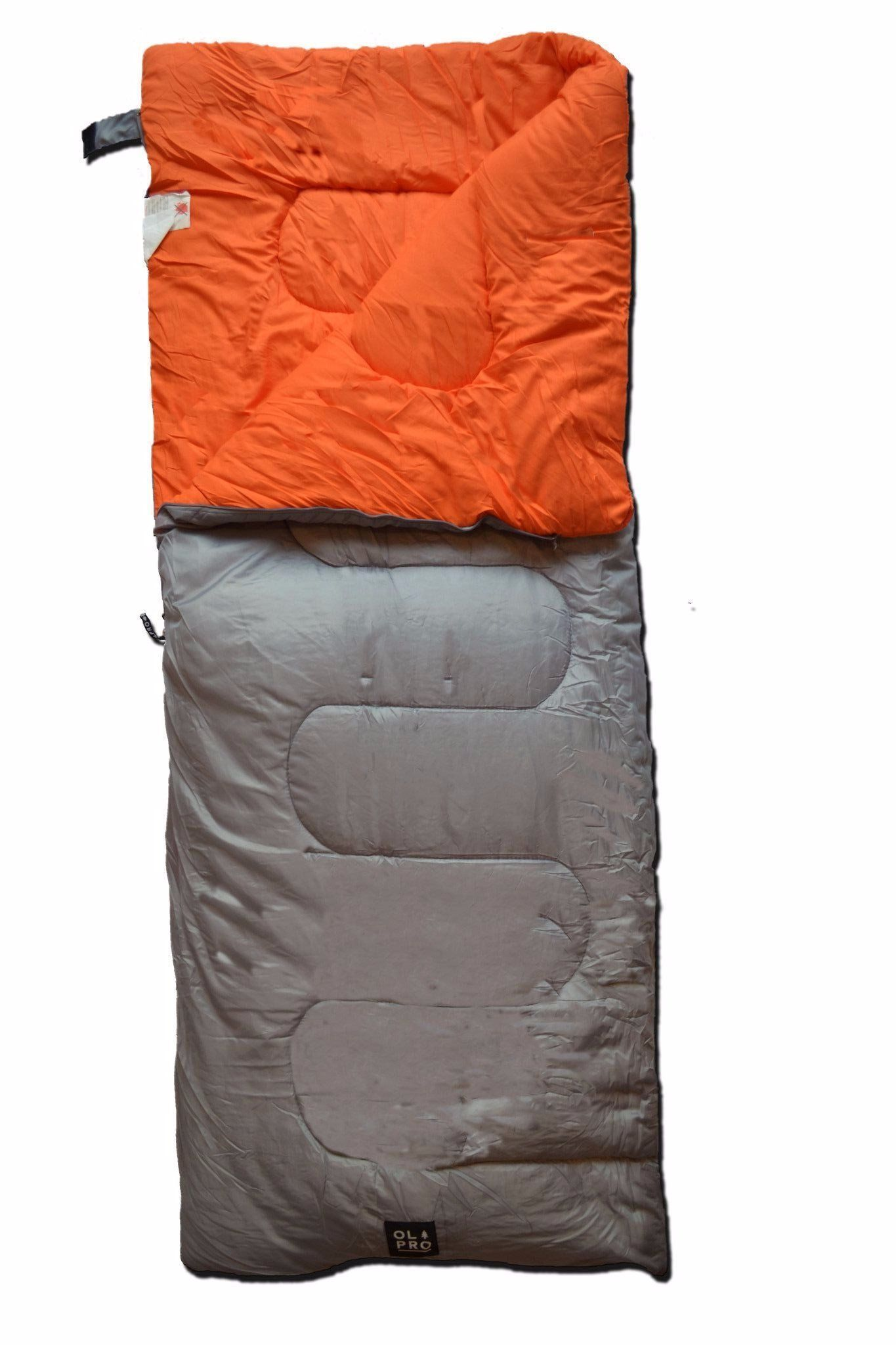 OLPRO HUSH  Sleeping Bag Plain 190 x 75cm Camping 3 Seasons with Storage Bag  no.1 online
